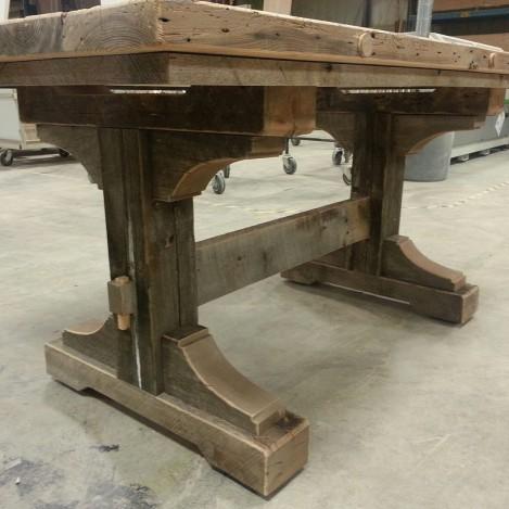 Custom, Rustic, Barnwood Table