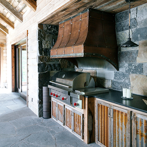 outdoor Kitchen, Outdoor Hood, Outdoor Built-in Grill