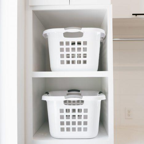 laundry basket storage tower