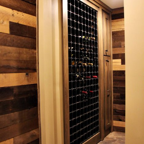 Hidden Door Wine Rack