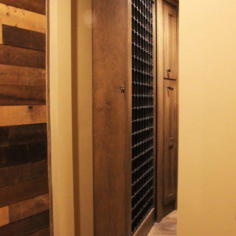 Hidden Door Wine Rack